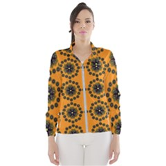 Desktop Abstract Template Flower Windbreaker (women)