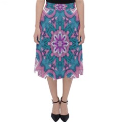 Mandala Pattern Abstract Classic Midi Skirt