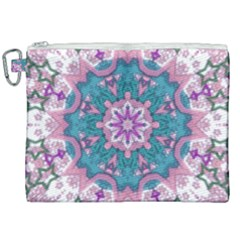 Mandala Pattern Abstract Canvas Cosmetic Bag (xxl)