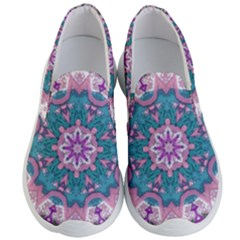 Mandala Pattern Abstract Men s Lightweight Slip Ons