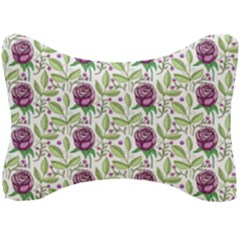 Default Texture Background Floral Seat Head Rest Cushion by Pakrebo