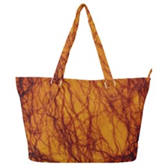 Lightning Internal Blood Vessel Full Print Shoulder Bag