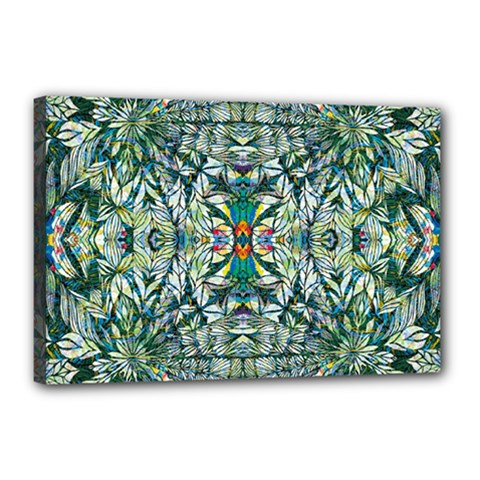 Pattern Design Pattern Geometry Canvas 18  X 12  (stretched)
