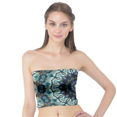 Pattern Abstract Background Art Tube Top