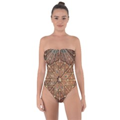 Peterborough Cathedral Peterborough Tie Back One Piece Swimsuit
