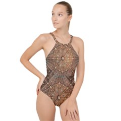 Peterborough Cathedral Peterborough High Neck One Piece Swimsuit