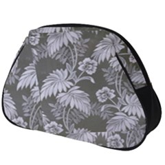 Curtain Ornament Flowers Leaf Full Print Accessory Pouch (big)