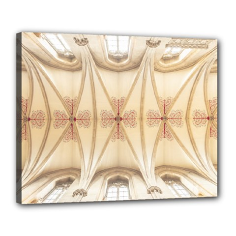 Wells Cathedral Wells Cathedral Canvas 20  X 16  (stretched)