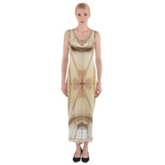 Wells Cathedral Wells Cathedral Fitted Maxi Dress