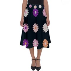 Daisy Deco Perfect Length Midi Skirt by WensdaiAddamns