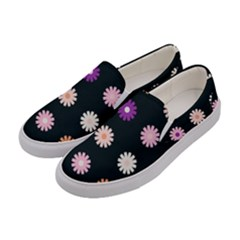 Daisy Deco Women s Canvas Slip Ons by WensdaiAddamns