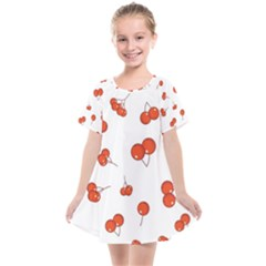 Cherry Picked Kids  Smock Dress by WensdaiAddamns
