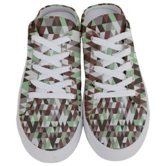 Coco Mint Triangles Half Slippers