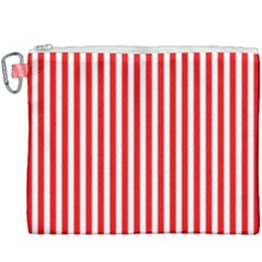 Candy Stripes Canvas Cosmetic Bag (xxxl)