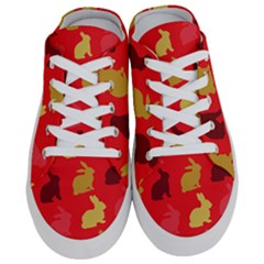Rabbit, Rabbit   Red Half Slippers by WensdaiAddamns
