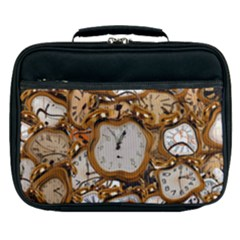 Time Clock Watches Lunch Bag