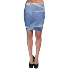Wallpaper Abstraction Bodycon Skirt