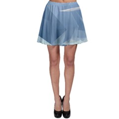 Wallpaper Abstraction Skater Skirt