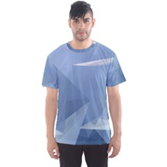 Wallpaper Abstraction Men s Sports Mesh Tee