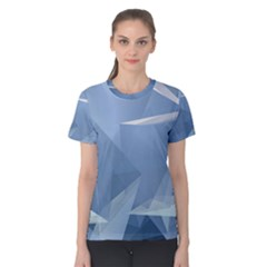 Wallpaper Abstraction Women s Cotton Tee