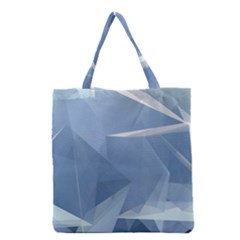 Wallpaper Abstraction Grocery Tote Bag