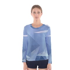 Wallpaper Abstraction Women s Long Sleeve Tee