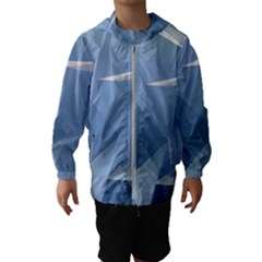 Wallpaper Abstraction Hooded Windbreaker (kids)