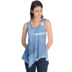 Wallpaper Abstraction Sleeveless Tunic