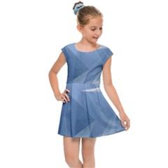 Wallpaper Abstraction Kids  Cap Sleeve Dress