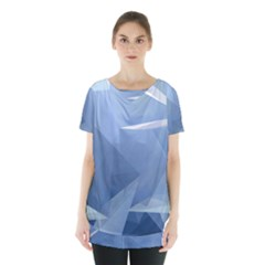 Wallpaper Abstraction Skirt Hem Sports Top