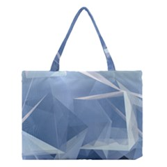 Wallpaper Abstraction Medium Tote Bag