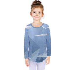 Wallpaper Abstraction Kids  Long Sleeve Tee
