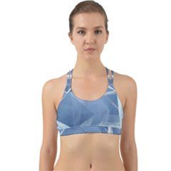 Wallpaper Abstraction Back Web Sports Bra