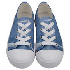 Wallpaper Abstraction Kids  Low Top Canvas Sneakers