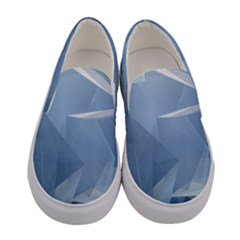 Wallpaper Abstraction Women s Canvas Slip Ons