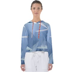 Wallpaper Abstraction Women s Slouchy Sweat