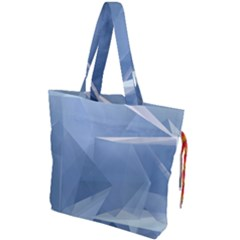 Wallpaper Abstraction Drawstring Tote Bag