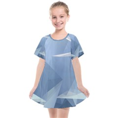 Wallpaper Abstraction Kids  Smock Dress