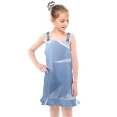 Wallpaper Abstraction Kids  Overall Dress