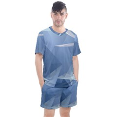 Wallpaper Abstraction Men s Mesh Tee And Shorts Set