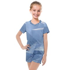 Wallpaper Abstraction Kids  Mesh Tee And Shorts Set