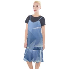 Wallpaper Abstraction Camis Fishtail Dress