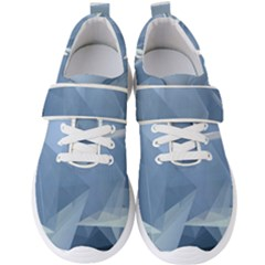 Wallpaper Abstraction Men s Velcro Strap Shoes