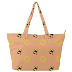 Honey Bee Mine Full Print Shoulder Bag