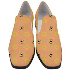 Honey Bee Mine Slip On Heel Loafers by WensdaiAddamns