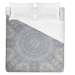 Lace Flower Planet And Decorative Star Duvet Cover (queen Size)