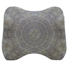 Lace Flower Planet And Decorative Star Velour Head Support Cushion