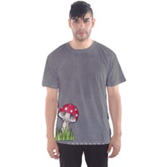Mushroom Season Men s Sports Mesh Tee