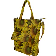 Surreal Sunflowers Shoulder Tote Bag