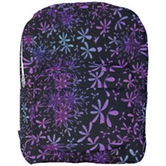 Retro Lilac Pattern Full Print Backpack